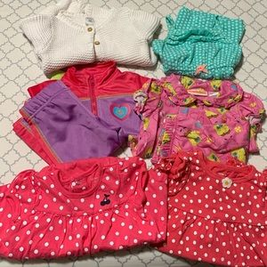 Baby girls outfits sets